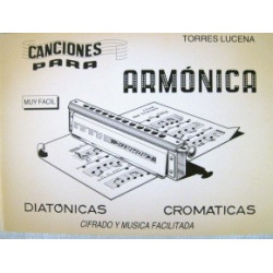Canciones para armónica Torres Lucena