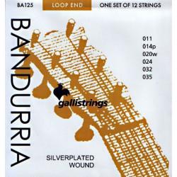 Juego de Cuerdas Bandurria Galli