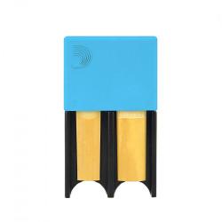 Portacañas D'Addario Woodwinds de 4 Azul