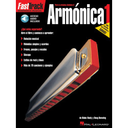 Fast Track Armónica +cd