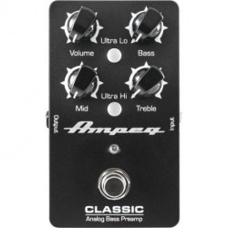 Pedal AMPEG CLASSIC BASS PREAMP