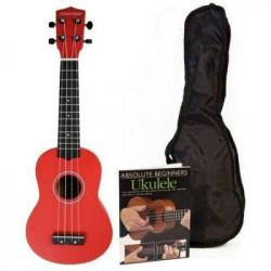 PACK Ukelele Pure Tone (Rojo)