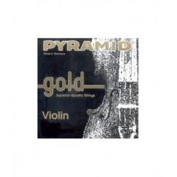Cuerdas Violín Pyramid Gold 1/2