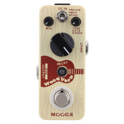 Pedal MOOER WOODVERB Acoustic reverb
