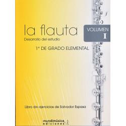 La Flauta: Desarrollo del Estudio 1ºv