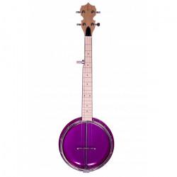 Banjolele Bones BB500P 5 Cuerdas Púrpura
