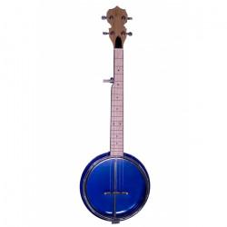 Banjolele Bones BB500A 5 Cuerdas Azul