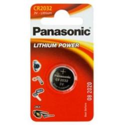 Blister 1 Pila Botón Panasonic 3V CR2032