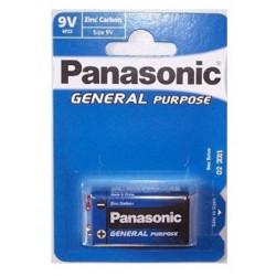 Blister 1 Pila Petaca Alkalina Panasonic 9V 6LR61