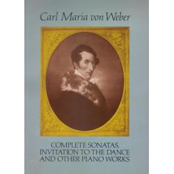 Weber Sonatas, invitación a la danza y otras obras para piano