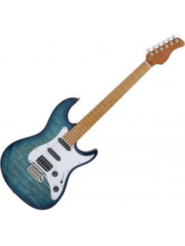 Guitarra Eléctrica SIRE GUITARS S7 FM TBL TRANS BLUE