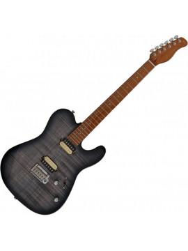 Guitarra Eléctrica SIRE GUITARS T7 FM TBK TRANS BLACK