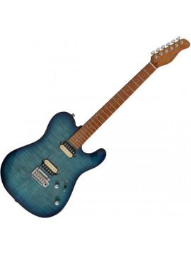 Guitarra Eléctrica SIRE GUITARS T7 FM TBL TRANS BLUE